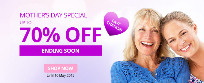 StrawberryNet- up to 70% off Mother's Day specials + free worldwide shipping on orders over $35