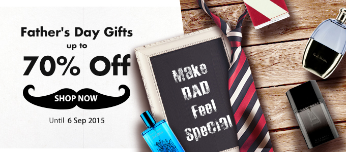 Save up to 70% off Father's Day gifts at StrawberryNET.
