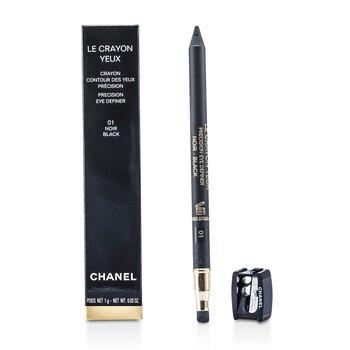 Chanel Viền Mắt  & L�ng M�y -  Le Crayon Yeux # 01 Noir  1g/0.03oz