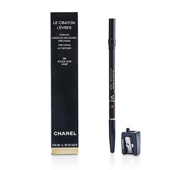 Chanel Le Crayon Levres - No. 09 Rouge Noir  1g/0.03oz
