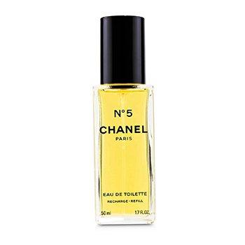 Chanel No.5 Eau De Toilette Semprot Isi Ulang  50ml/1.7oz