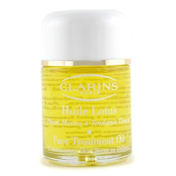 Clarins-Face Treatment Oil-Lotus