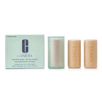 3 Little Soap - Oily Skin Formula Clinique 3 Little Soap - Oily Skin Formula 3x50g