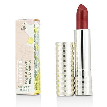 Long Last Lipstick - No. 15 All Heart (Soft Shine) Clinique Long Last Lipstick - No. 15 All Heart (Soft Shine) 4g/0.14oz