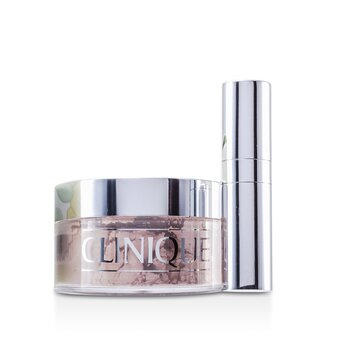 Clinique-Blended Face Powder + Brush - No. 02 Transparency; Premium price due to scarcity