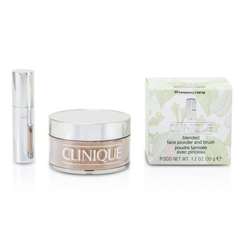 Clinique-Blended Face Powder + Brush - No. 03 Transparency; Premium price due to scarcity