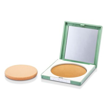 Clinique-Stay Matte Powder Oil Free - No. 04 Stay Honey
