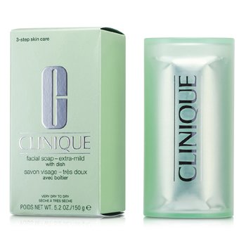 Clinique Facial Soap - Extra Mild (With Dish) 150g/5.2oz