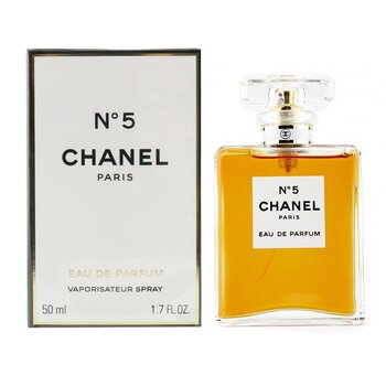 No.5 Eau De Parfum Spray (Cristal Bottle) - Chanel - Perfume & Women's Fragrances - StrawberryNET.com