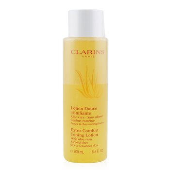 Clarins Extra Comfort Toning Lotion - Dry or Sensitized Skin 200ml/6.8oz