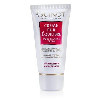GuinotPure Balance Cream - Daily Oil Control (For Combination or Oily Skin) 50ml/1.7oz