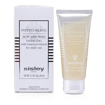Sisley-Phyto- Blanc Buff & Wash Facial Gel (Tube)