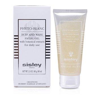Sisley Phyto- Blanc Buff & Wash Facial Gel (Tube)  100ml/3.3oz