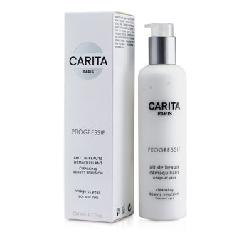 CARITA Progressif Cleansing Beauty Emulsion For Face & Eyes 200ml/6.7oz