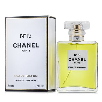 Chanel No.19 Eau De Parfum Semprot-Botol Kristal  50ml/1.7oz