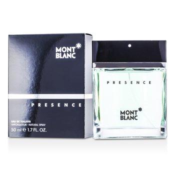 Mont Blanc Presence Eau De Toilette Spray 50ml/1.7oz