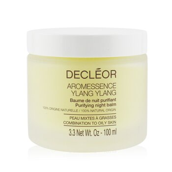Image of Decleor Aroma Night Ylang Ylang Purifying Night Balm Salon Size 100ml3.3oz