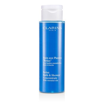 Clarins-Relax Bath & Shower Concentrate