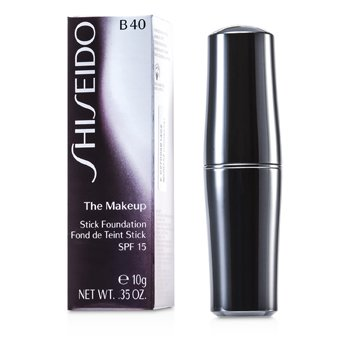 Shiseido-The Makeup Stick Foundation SPF 15 - B40 Natural Fair Beige