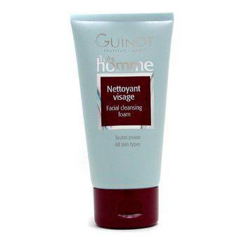 Guinot-Tres Homme Facial Cleansing Foam - All Skin Types