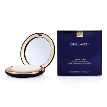 Estee Lauder-Double Matte Oil Control Pressed Powder - No. 01 Light