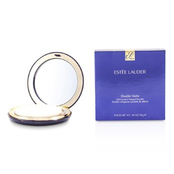 Estee Lauder-Double Matte Oil Control Pressed Powder - No. 03 Medium