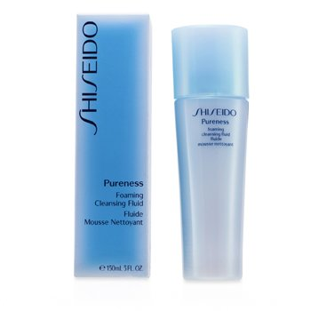 Shiseido Pureness Foaming Cleansing Fluid  150ml/5oz