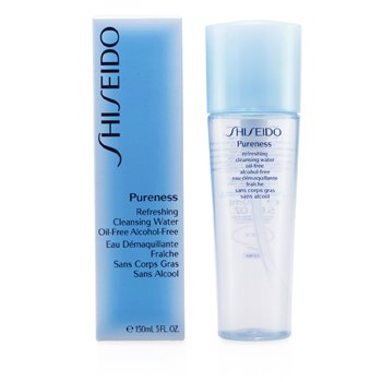 Shiseido-Pureness Refreshing Cleansing Water Oil-Free