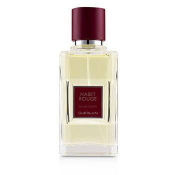 Guerlain Habit Rouge Eau De Toilette Spray  50ml/1.7oz