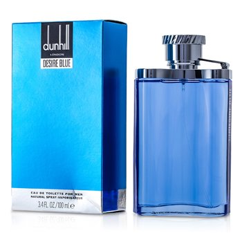 Dunhill Desire Blue Eau De Toilette Spray 100ml/3.3oz