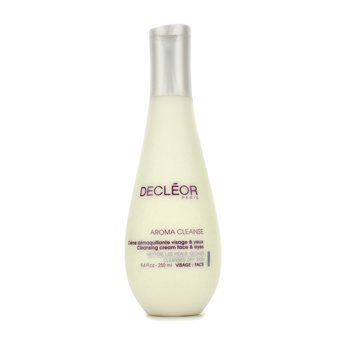 Decleor Aroma Cleanse Cleansing Cream Face & Eyes (Dry Skin)  250ml/8.4oz