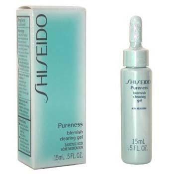 ShiseidoPureness კანის დაზიანების საწინააღმდეგო გამწმენდი გელი 15ml/0.5oz