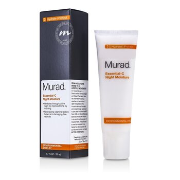 Купить Essential-C Ночное Увлажняющее Средство 50ml/1.7oz, Murad
