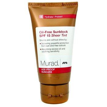 Murad-Oil-Free Sunblock SPF15 for Face