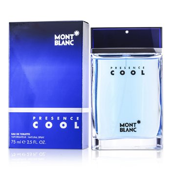 Mont Blanc Presence Cool Eau De Toilette Spray  75ml/2.5oz