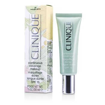Clinique-Continuous Coverage Spf15 - No. 07 Ivory Glow