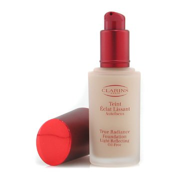 Clarins-True Radiance Foundation Light Reflecting Oil Free - #04 Latte/ Cafe Cream