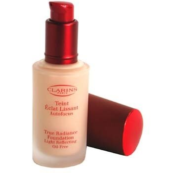 Clarins-True Radiance Foundation Light Reflecting Oil Free - #07 Tender Ivory/ Claire Be