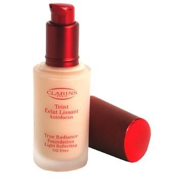 Clarins-True Radiance Foundation Light Reflecting Oil Free - #08 Sunlit Beige/ Sable Beige