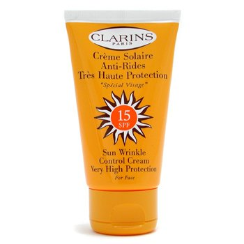 Clarins-Sun Wrinkle Control Cream Hign Protection For Face