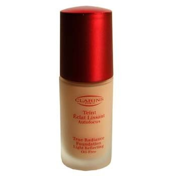 Clarins-True Radiance Foundation Light Reflecting Oil Free - #10 Dore Cannelle/ Tender G