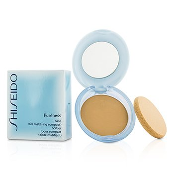 ShiseidoPureness Matifying Compact Oil Free Foundation SPF16 (Case + Refill) - # 20 Light Beige 11g/0.38oz