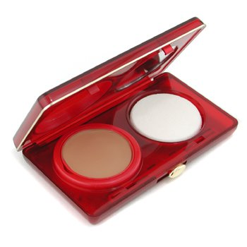 Clarins-Soft Touch Rich Compact Foundation - 09 Cappuccine ( Unboxed )