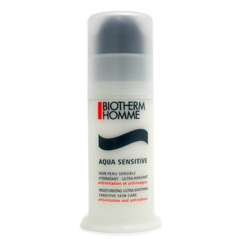Biotherm-Homme Aquasensitive Moisturizing Ultra-Soothing Sensitive Skin Care