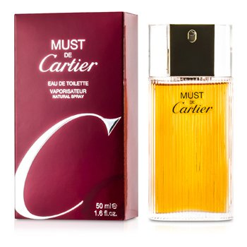 Cartier Must De Cartier EDT Spray 50ml/1.7oz women