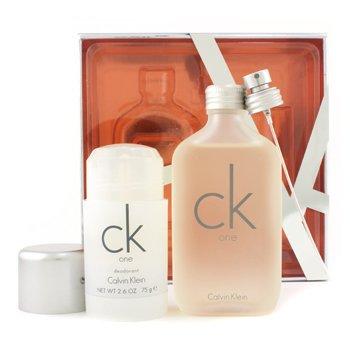 Calvin Klein-CK One Coffret: Edt Spray 100ml + Deodorant Stick 75g