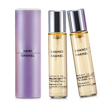 ChanelChance Twist & Spray Eau De Toilette 3x20ml/0.7oz