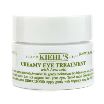 Kiehl'sCreamy Eye Treatment with Avocado - Perawatan Mata 14ml/0.5oz