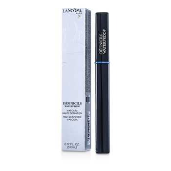 LancomeDefinicils Mascara Waterproof # 01 Black ( Hecho en USA ) 5ml/0.17oz