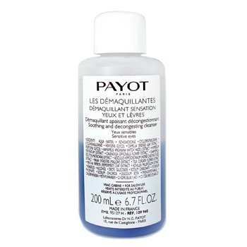 PayotDemaquillant Sensation para Yeux/Levres ( Salon Size ) 200ml/6.7oz